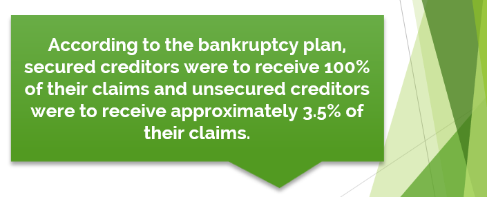 healthcare bankruptcy statistic