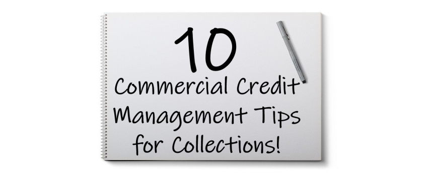 commercial credit management tips