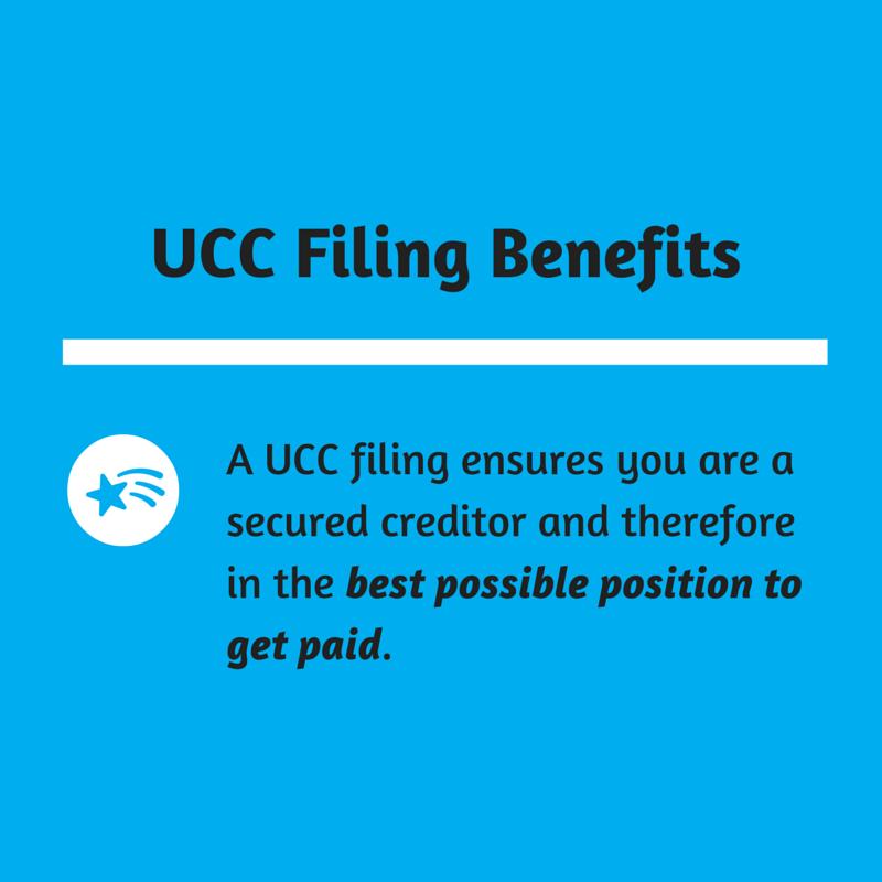 The Benefit Of Ucc Filings Ncs Credit