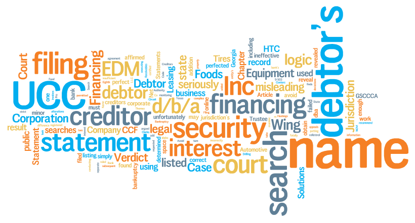 Errors In Ucc Filings Ncs Credit