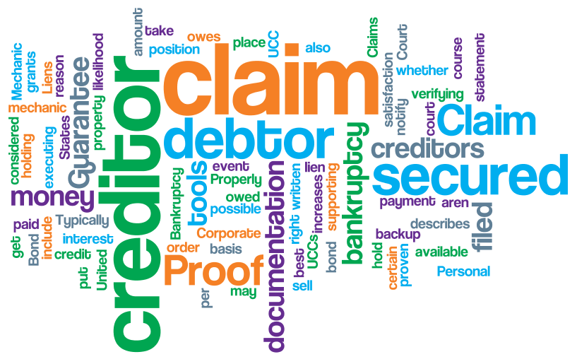 Filing a Bankruptcy Proof of Claim as a Secured Creditor | NCS Credit